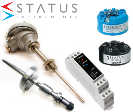 Status Instruments Design, Manufacture and Supply of Process Instrumentation
